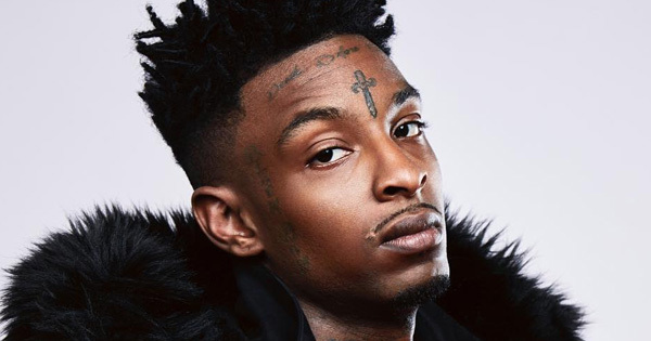 21 SAVAGE REMOVES FACE TATTOO'S | Golden Key Media